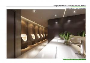 Nhà vệ sinh tầng 1- khu tiệc